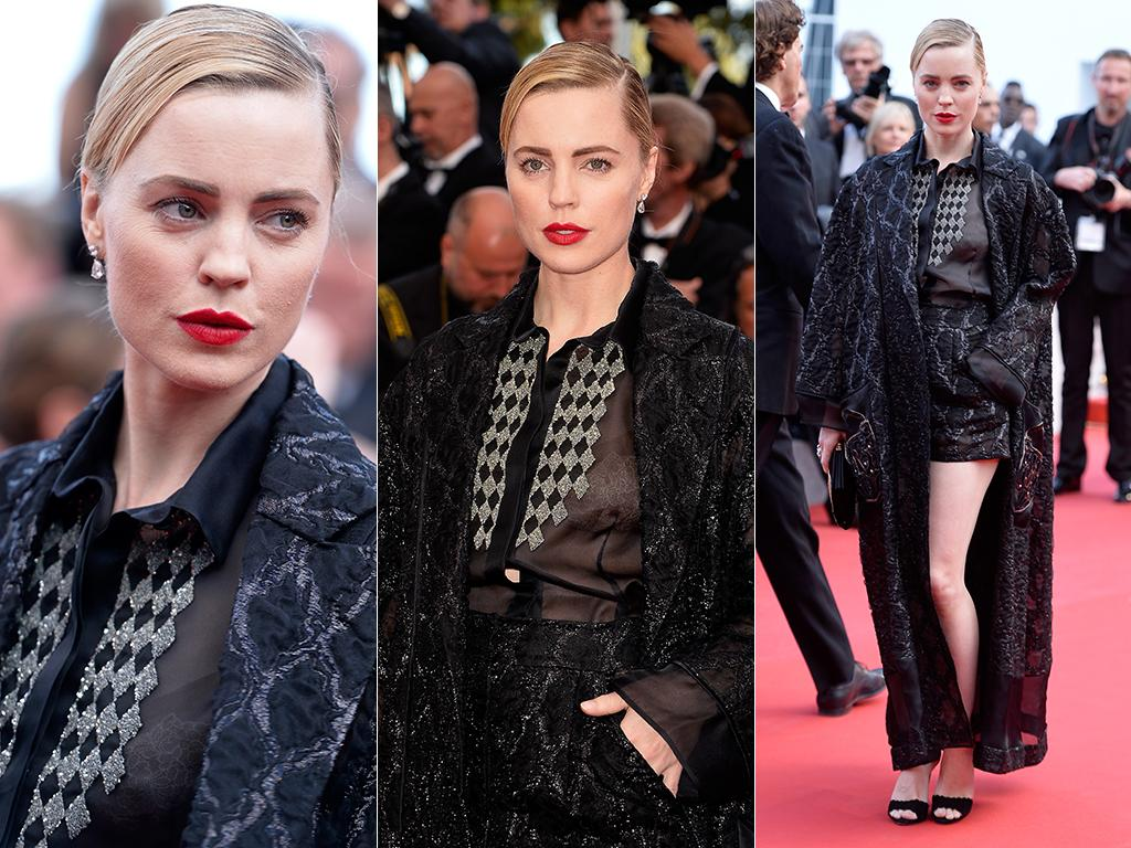 Melissa George attends the Premiere of 'Irrational Man' during the 68th annual Cannes Film Festival. Pictures: Getty