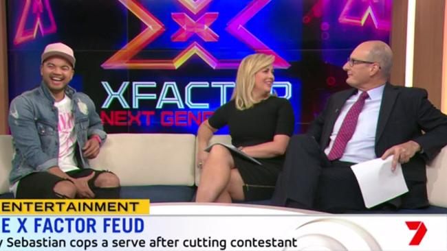Armytage and Sebastian were left stunned by Kochie's straight-shooting question.