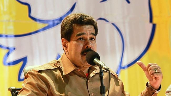 Venezuelan President Nicolas Maduro used internet service providers to try to stop images of protests hitting Twitter. Source: AFP PHOTO/PRESIDENCIA