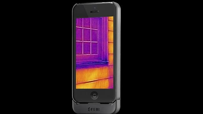 See in the dark with a thermal imaging camera.