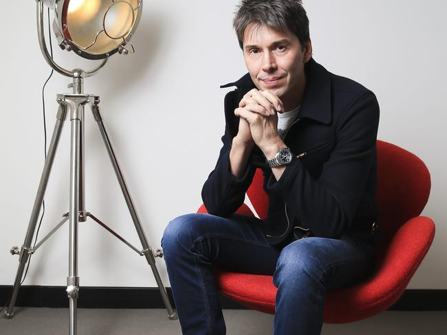 Professor Brian Cox says the way to solve our energy and climate crisis is to move energy production into space. Picture: Dylan Robinson