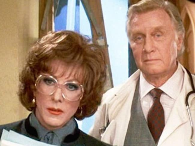 Big role ... George Gaynes, starred alongside Dustin Hoffman in Tootsie. Picture: Supplied