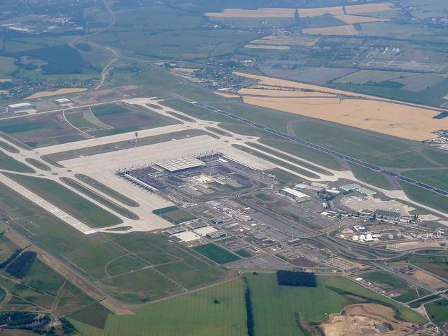 Aerial view of the airport. Picture: Olad Tausch, Wikiccommons
