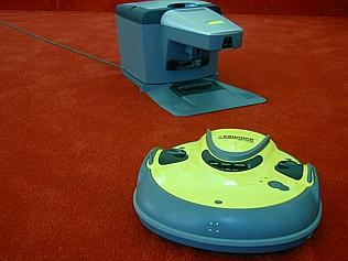 The Karcher RC3000 Robo Cleaner ... the future's promise ful...