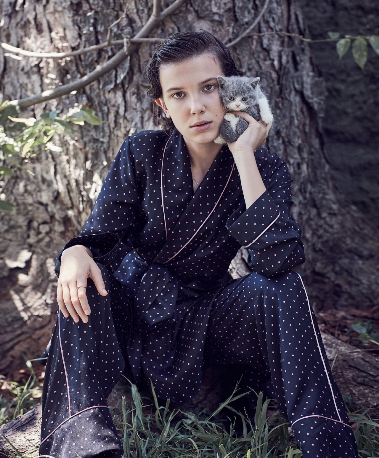 Millie Bobby Brown on where she sees Eleven in 10 years and what makes her cry