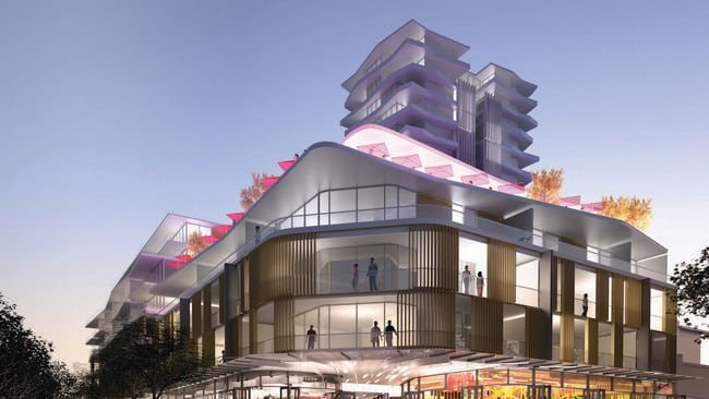 An artist's impression of Subiaco Pavilion. Source: D2 Property