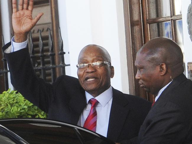 South African President Jacob Zuma is being removed as the nation's leader.