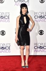 Carly Rae Jepsen arrives at the People's Choice Awards 2016. Picture; Jordan Strauss/Invision/AP