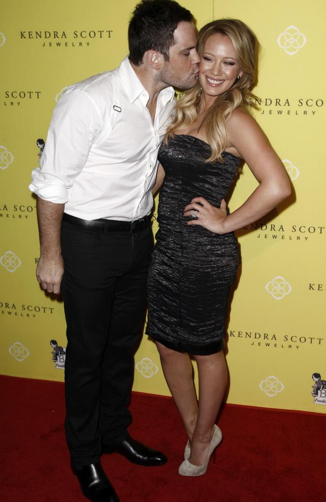 actress hilary duff�s exhusband mike comrie is accused of
