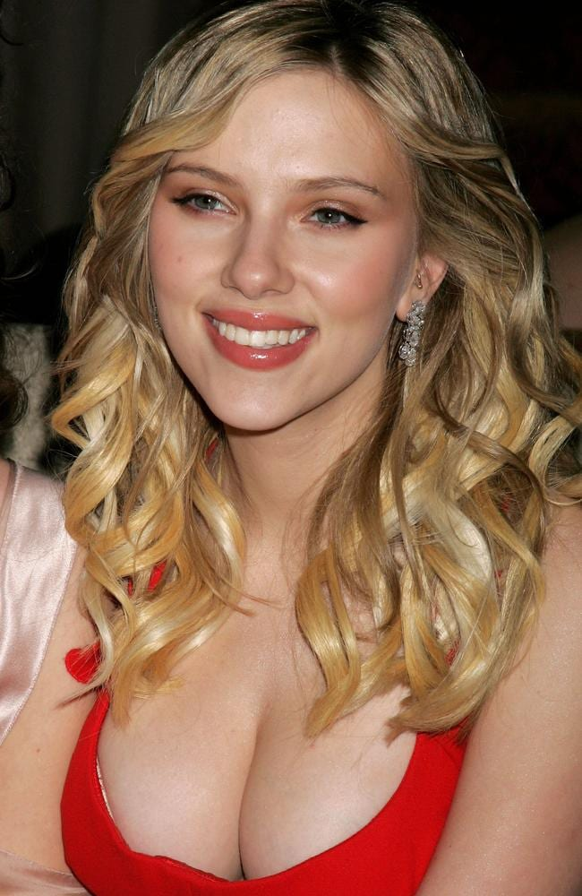 Actress Scarlett Johansson attends the Weinstein Co. Golden Globe after party held at Trader Vic's on January 16, 2006 in Beverly Hills, California. Picture: David Livingston/Getty Images