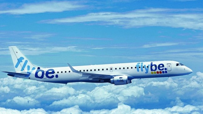 Near miss .. budget airline Flybe has reviewed safety checks after the incident.
