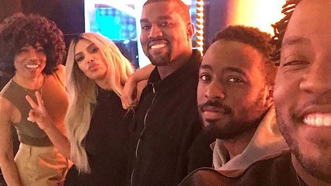 Kanye and Kim are coming to the US version of Family Feud. Picture: ABC