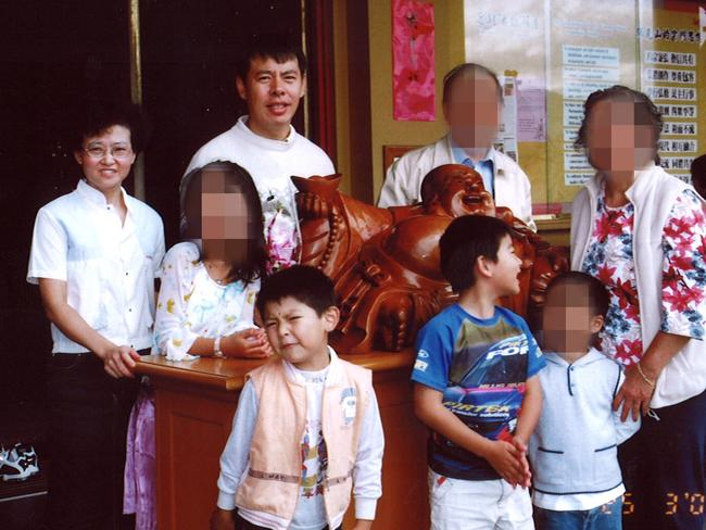 Lily and Min Lin pictured with their sons Terry and Henry were all murdered in the Lin family home in Epping, Sydney, on a winter's night in 2009.