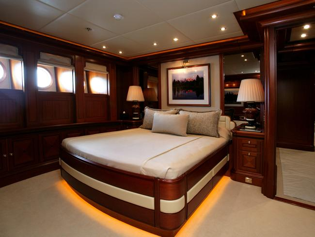 One Of The World S Largest Yachts With A Library And Marble Spa Is On Sale For A Whopping 70