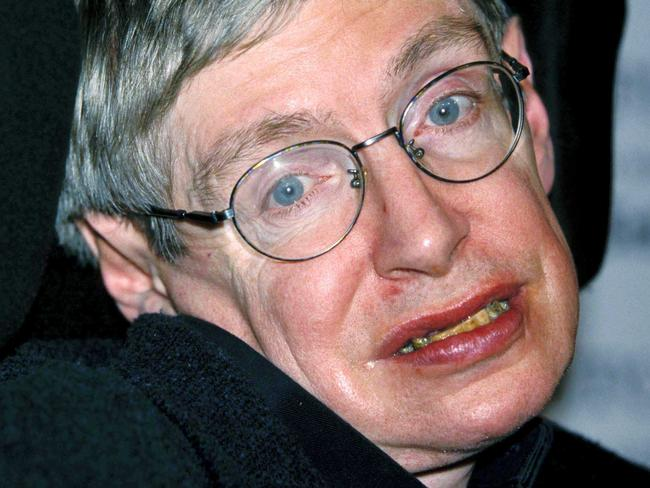 Stephen Hawking was famous for his whip-smart sense of humour. Picture: CAN/Capital Pictures/TheMegaAgency.com