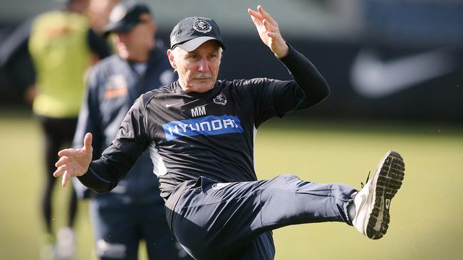 Mick Malthouse's critics are barking up the wrong tree.