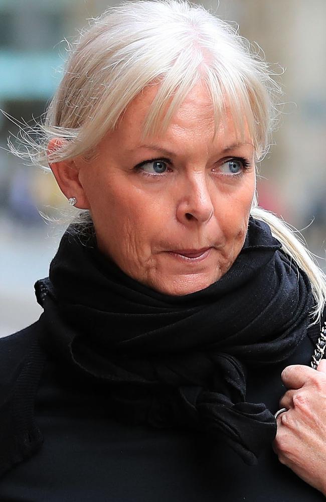 Schoolteacher Deborah Lowe, 53, outside Manchester's Minshull Street Crown Court. Picture: Peter Byrne/PA/AAP
