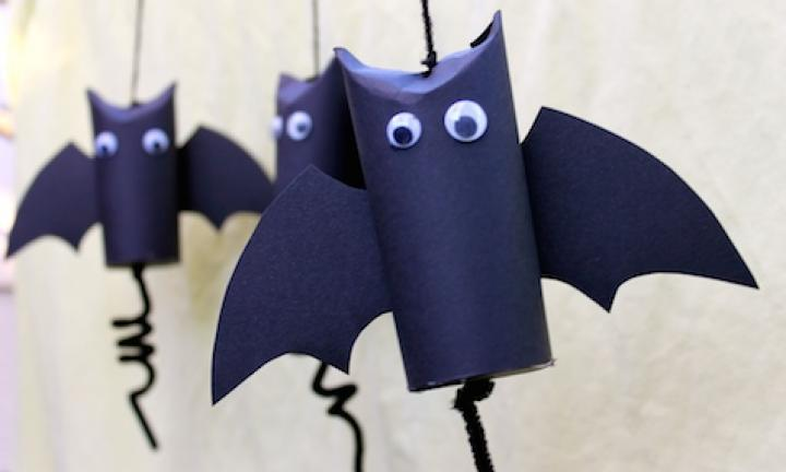 "34. Mini bat pinatas  <p>If you're having a party, these make great party favours and there's no scramble for lollies, because everyone gets their own!</p> <p><a href=""http://www.kidspot.com.au/things-to-do/activities/make-mini-bat-pinatas"">See here for how to make Mini bat pinatas.</a></p>"