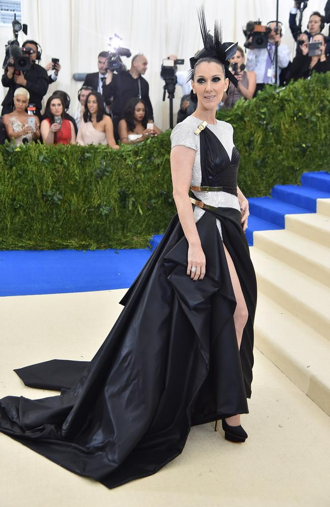 Celine Dion attends Monday's Met Gala. (Photo by Theo Wargo/Getty Images For US Weekly)
