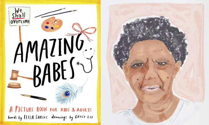 AMAZING BABES. A unique picture book that celebrates inspirational women from around the world. $24.99