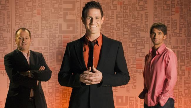 Russel Howcroft, Wil Anderson and Todd Sampson are back for more Gruen in 2015