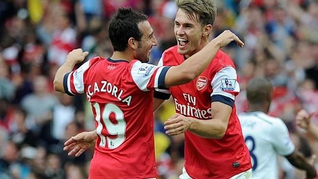 Santi Cazorla and Aaron Ramsey give Arsenal plenty of hope for the future.