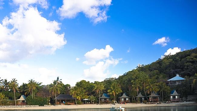PALM Bay at Long Island in the Whitsundays.