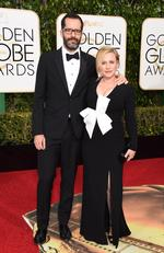 Patricia Arquette and Eric White arrive at the 73nd annual Golden Globe Awards, January 10, 2016, at the Beverly Hilton Hotel in Beverly Hills, California. Picture: AFP PHOTO / VALERIE MACON