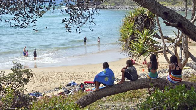 The leisure destination of the Sunshine Coast saw strong growth in arrivals from Sydney in February. Picture: iStock