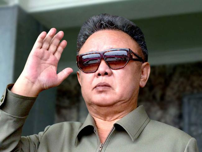 Kim Jong-nam and Kim Jong-un have the same father, late dictator Kim Jong-il (pictured). Picture: KNS