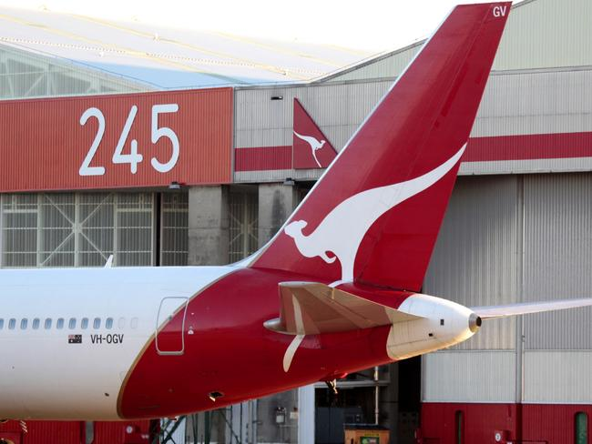 Qantas is in no rush to pass on savings from the scrapping of the carbon tax. Picture: Brad Hunter