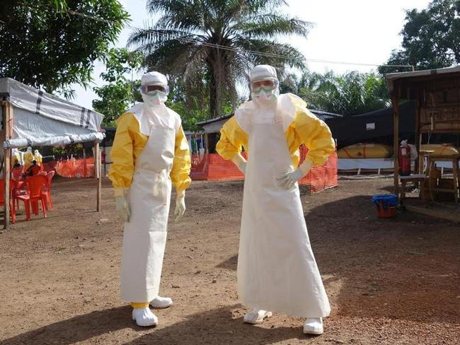 Aid agencies are struggling to contain the spread of Ebola.