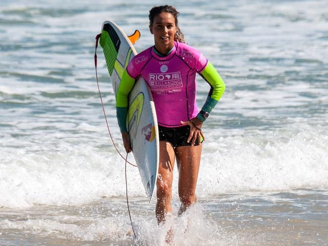Sally Fitzgibbons may be second on the ladder at the moment but she has her sights set firmly on taking the title.