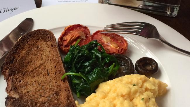 Breakfast at Cafe Sydney: fit for a supermodel. Pic: Melissa Hoyer