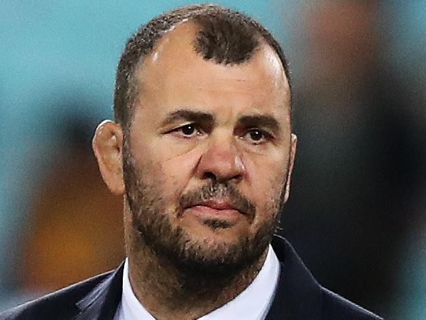 Wallabies coach Michael Cheika before the Bledisloe Cup match between the Australian Wallabies and New Zealand All Blacks at ANZ Stadium, Sydney. Picture: Brett Costello