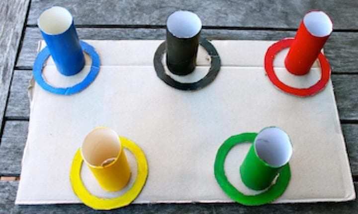 Olympic fun: make an Olympic hoopla game
