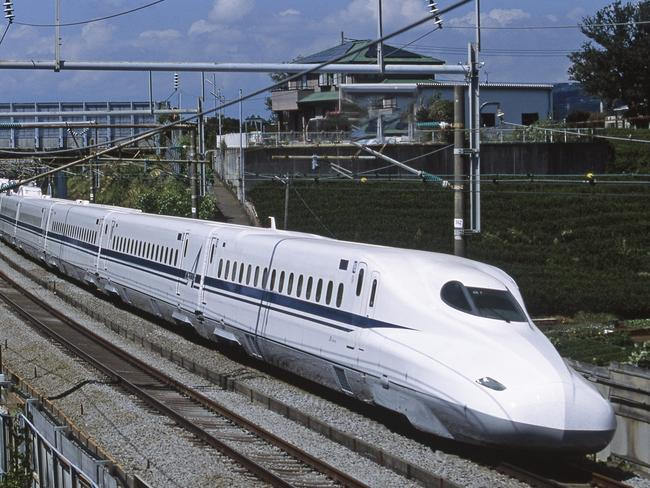 A forum hears how a bullet train would benefit the Central Coast. Picture: Central Japan Railway Company. **ONE TIME USE ONLY****MUST CREDIT**