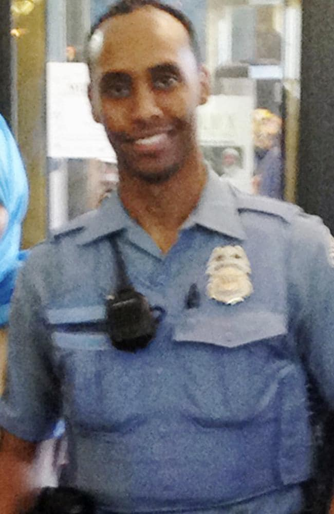 Officer Mohamed Noor was arrested early today.