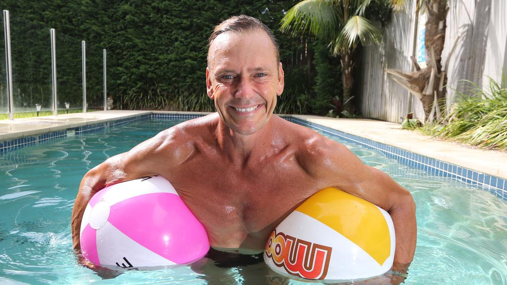 At home with former champion ironman guy leech the