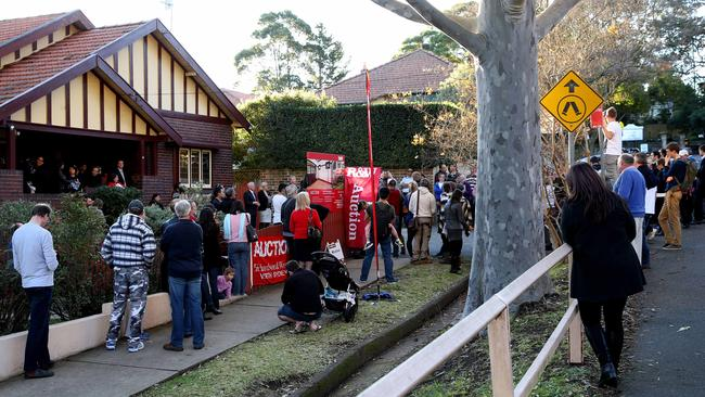 Four properties all on Edward St North Sydney, and owned by the same person, fetched nearly $10 million at auction. NSW real estate.