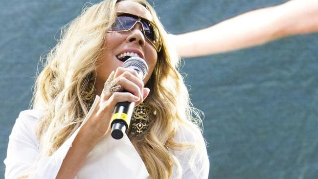 Mariah Carey performs at the Hot 97 Summer Jam XX on Sunday, June 2, 2013 in East Rutherford, N.J. Photo: AP