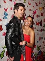 Singer Robin Thicke and Actress Paula Patton arrives at LG Rumorous Night with Heidi Klum held at the Andaz Hotel on April 28, 2009 in West Hollywood, California. Picture: Getty