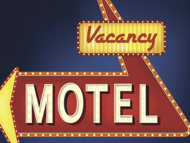 Deperate ... for half of all women escaping violent homes, a motel is their only option. Picture: Thinkstock.