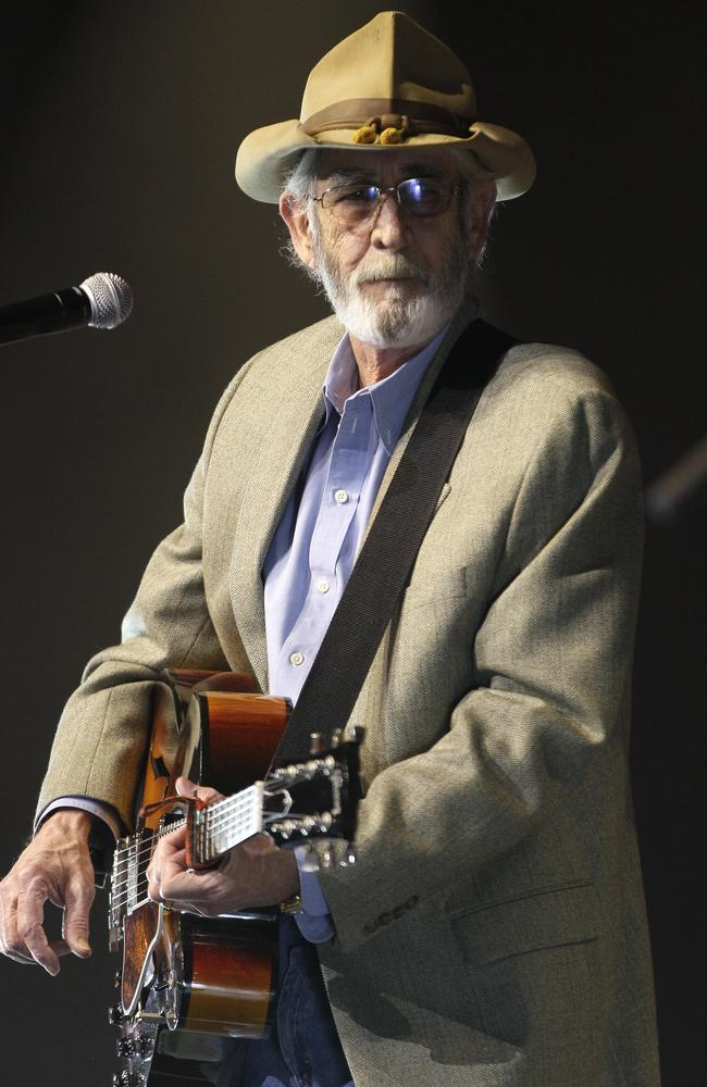 "Don Williams had famous love ballads like ""I Believe in You"". Picture: AP"