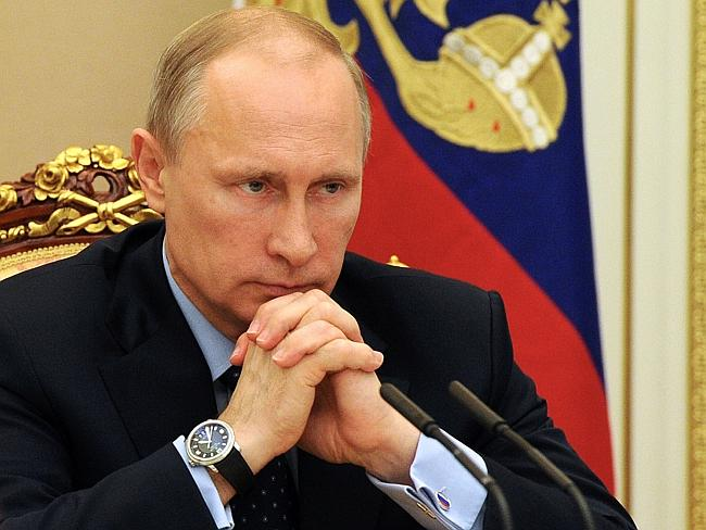 No go ... European leaders called on Vladimir Putin to help Ukraine by using his leverage with the separatists rebels to end a seven-week resistance that has claimed around 200 lives. Picture: AFP