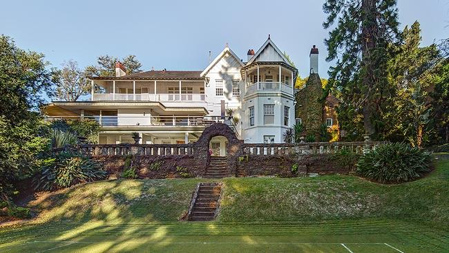 The John B Fairfax mansion, Elaine, at New South Head Rd, Point Piper, could sell for $100 million.