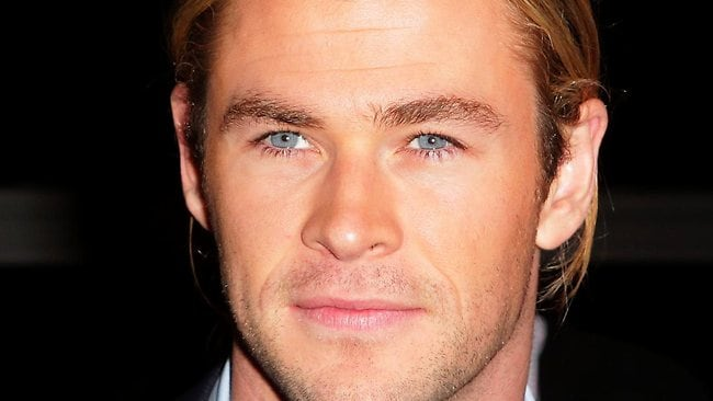His name is Thor, or, Chris Hemsworth, depending on which you prefer. Picture: Adam Ward