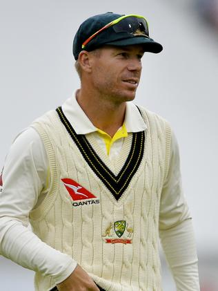 David Warner was subjected to sledging relating to his wife Candice. Picture: Ashley Vlotman/Gallo Images/Getty Images)