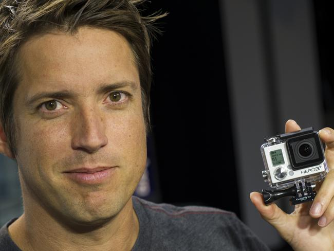 Nick Woodman is the founder and chief exec of GoPro.