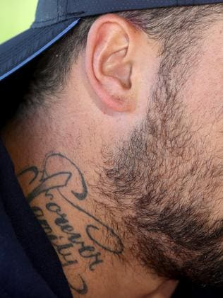 Andrew fifita s tattoo removal most painful thing i ve for How painful is tattoo removal